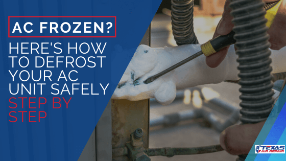 AC Frozen How to defrost your ac unit safely